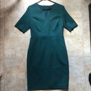 Banana Republic Green Sheath Dress, Size 4